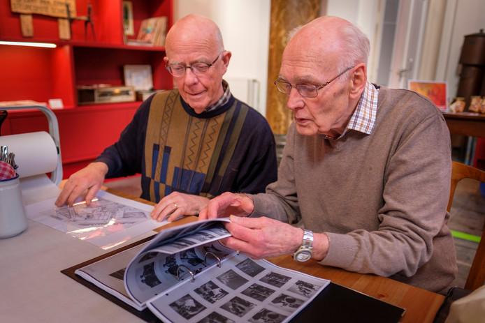 Oud-medewerkers van Gusto in Schiedam halen herinneringen op aan hun tijd bij de Schiedamse werf.