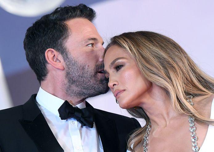 Ben Affleck et Jennifer Lopez à la Mostra de Venise.