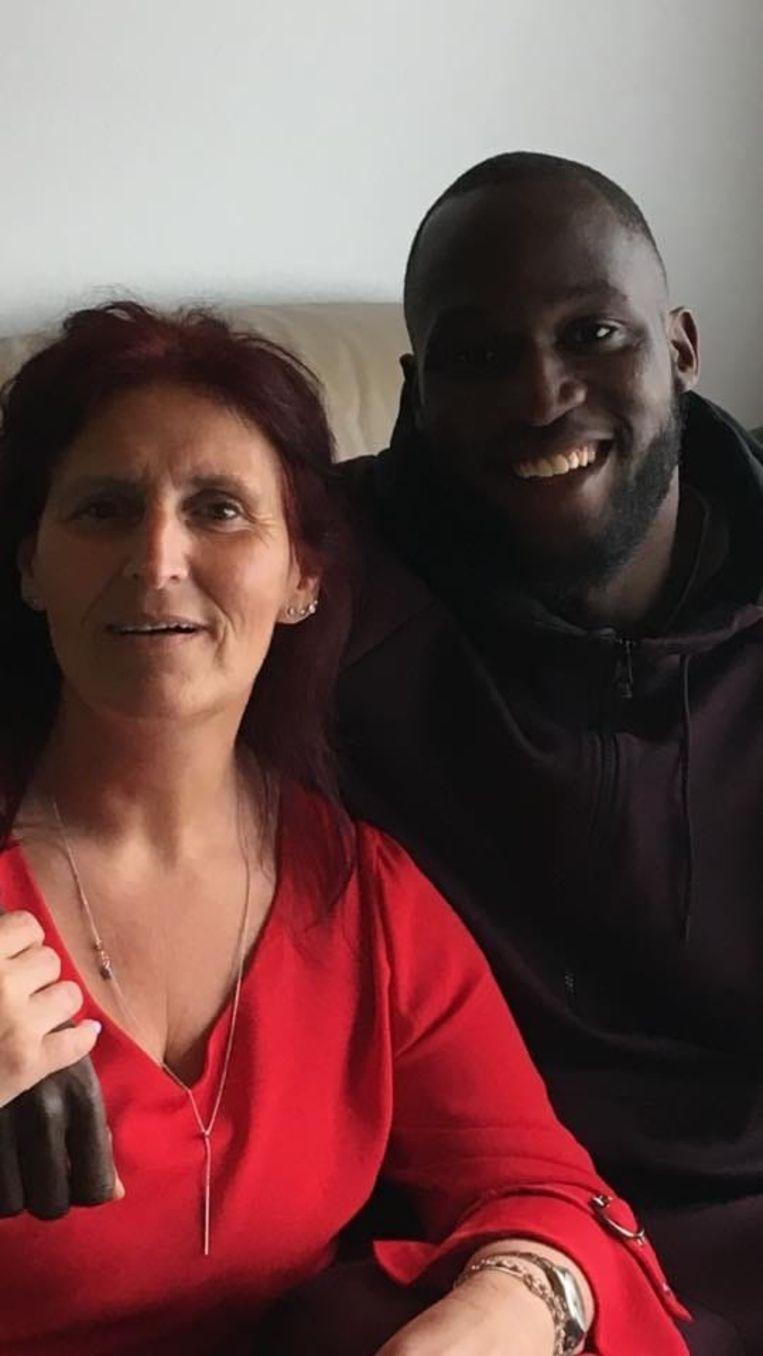 Marina Van Laeken: 'Ik weet het zeker: zodra het voetballen voorbij is, staat hij hier weer.' Beeld Vinnie