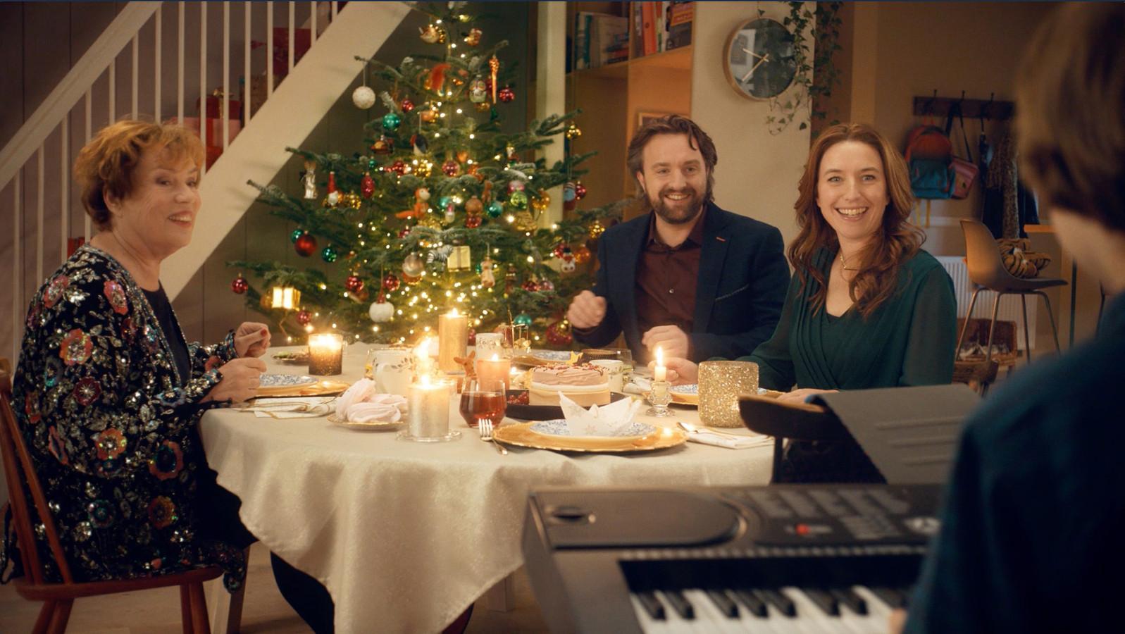 De kerstcommercial van Albert Heijn.