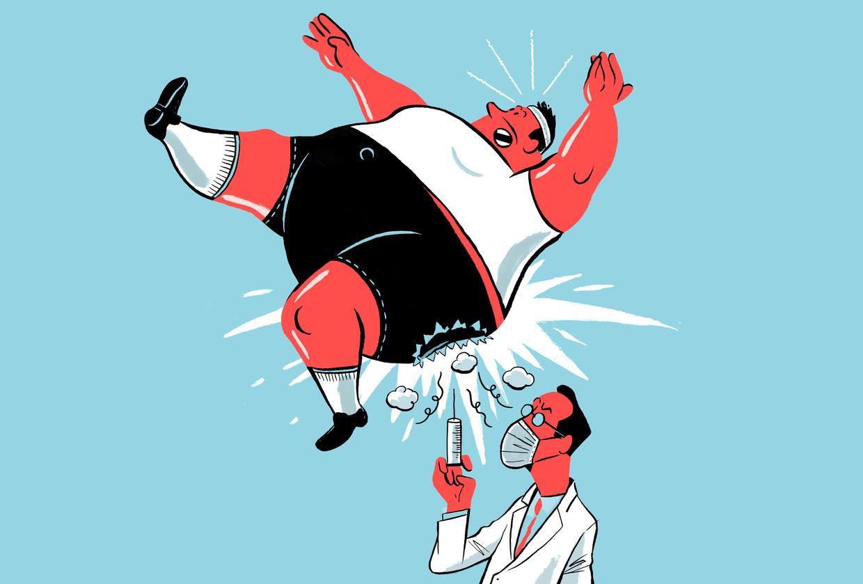 Obesitas Beeld Jeroen Los / Humo