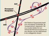 Trompet dé oplossing voor Hooipolder? 'We willen aanpak knooppunt openbreken'