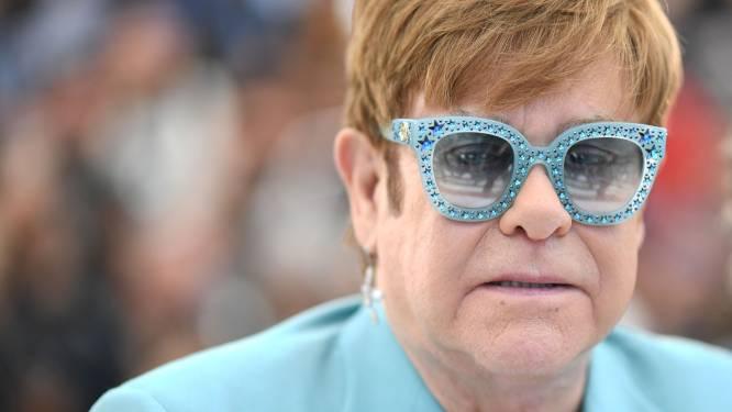 """Elton John wil de rest van z'n leven aan zijn kinderen wijden: """"Ik heb genoeg applaus gehad"""""""