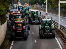 Boerenprotest op Malieveld kreeg bijna een 'luchtje': giertanks de pas afgesneden