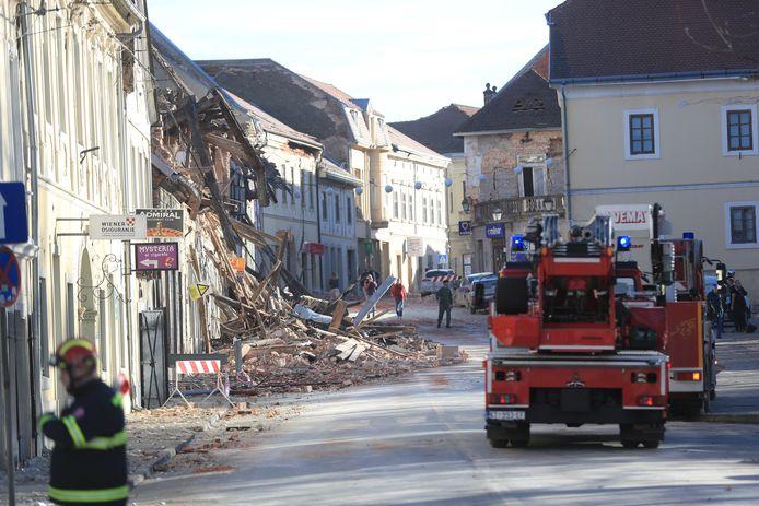 Het Kroatische Rode Kruis meldt dat er sprake is van een 'zeer ernstige situatie'.
