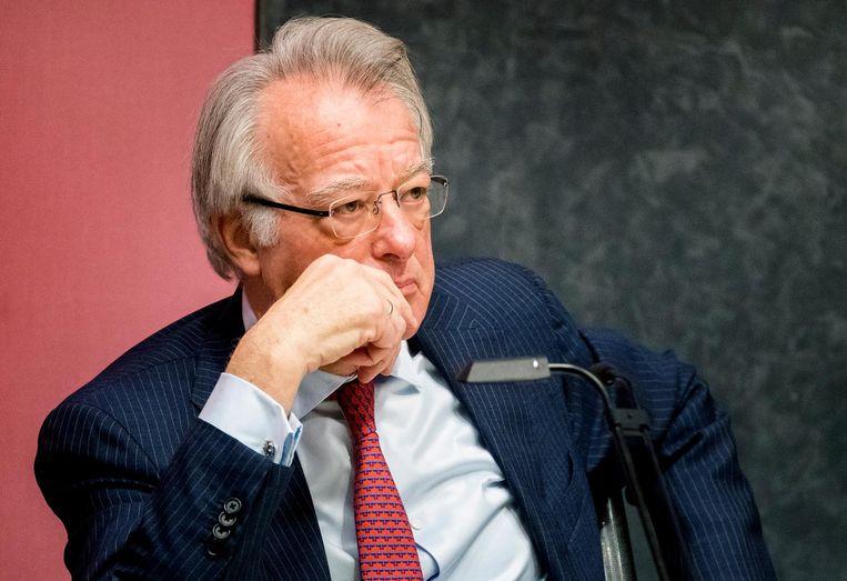 Waarnemend burgemeester Jozias van Aartsen. Beeld anp