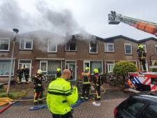 Gouds gezin op straat nadat computer woning in brand zet