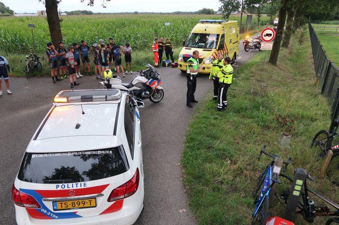 Het ongeluk gebeurde op de Rijsbergsebaan in Breda.
