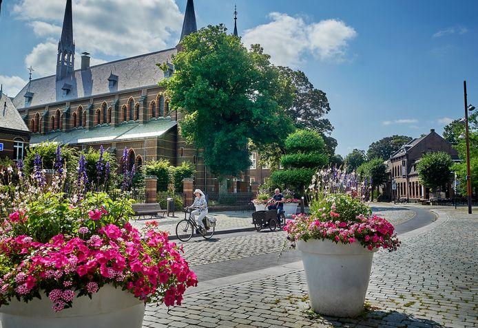 De Kruisherenkapel in Uden, een van de weinig echt oude gebouwen.