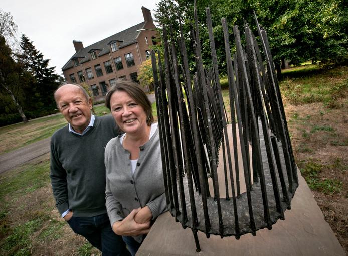 kunstsmullen in Heeze met Wim van Ekelen en Sylvia Vrooyink