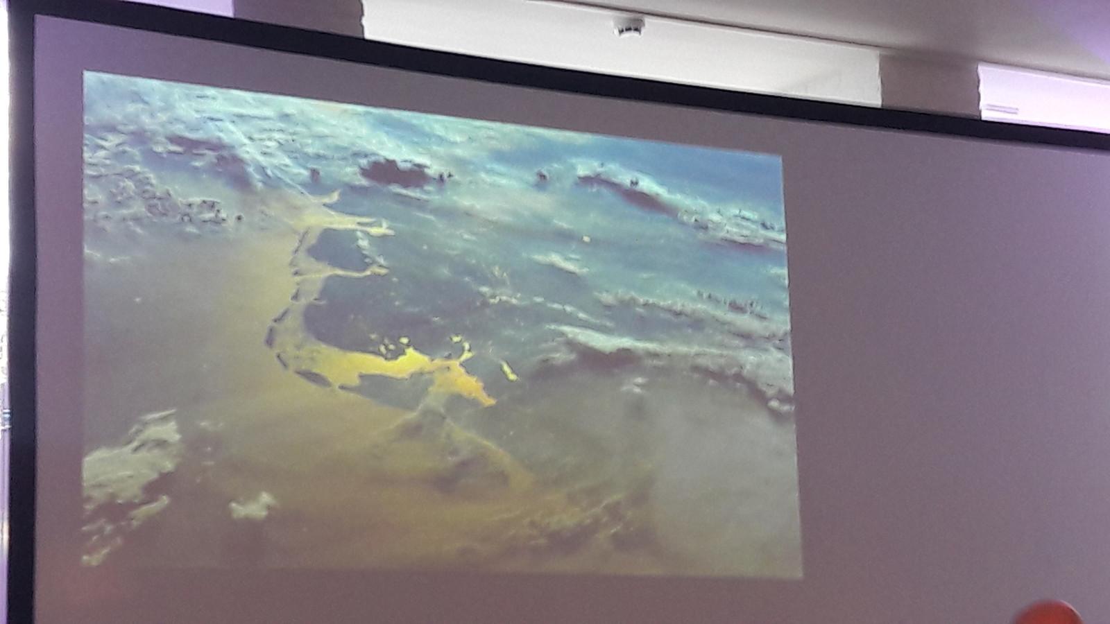 Nederland gezien vanuit het ISS.