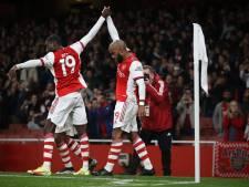 Lacazette redt diep in blessuretijd punt voor Arsenal
