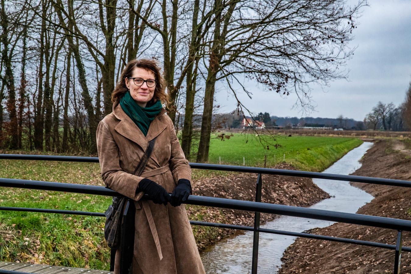 Merel Arink gaf in januari aan dat ze bezwaar ging maken tegen de plannen voor een fietspad langs de Fliert.