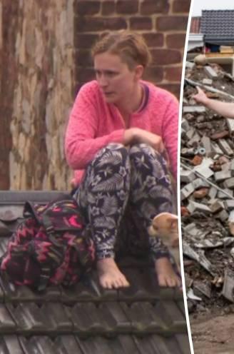 """Madeline zat met haar gezin en andere slachtoffers tien uur lang vast op een dak: """"Elk van ons had kunnen sterven daar"""""""