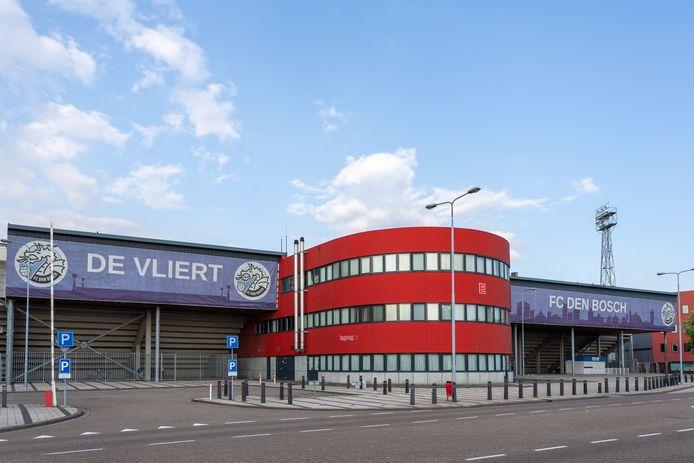 Stadion De Vliert van FC Den Bosch. Komt de club in Amerikaanse handen?
