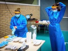 Corona-aanpak in Staphorst terug naar normaal: tijdelijke testlocatie weer gesloten