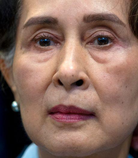 """Aung San Suu Kyi jugée pour """"incitation aux troubles publics"""""""
