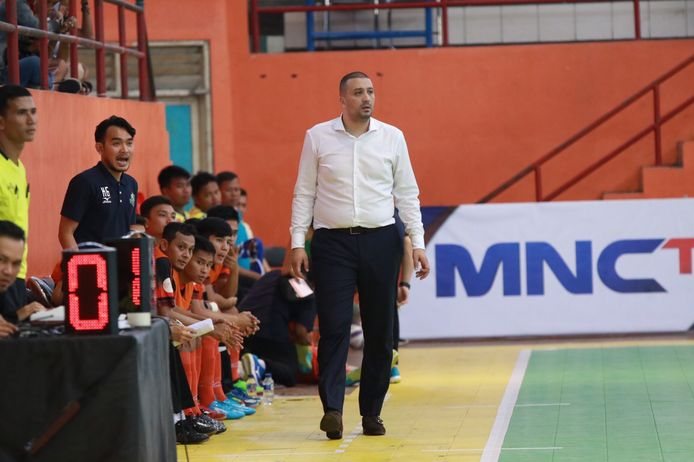 Hicham Benhammou, coach van Bintang Timur Surabaya