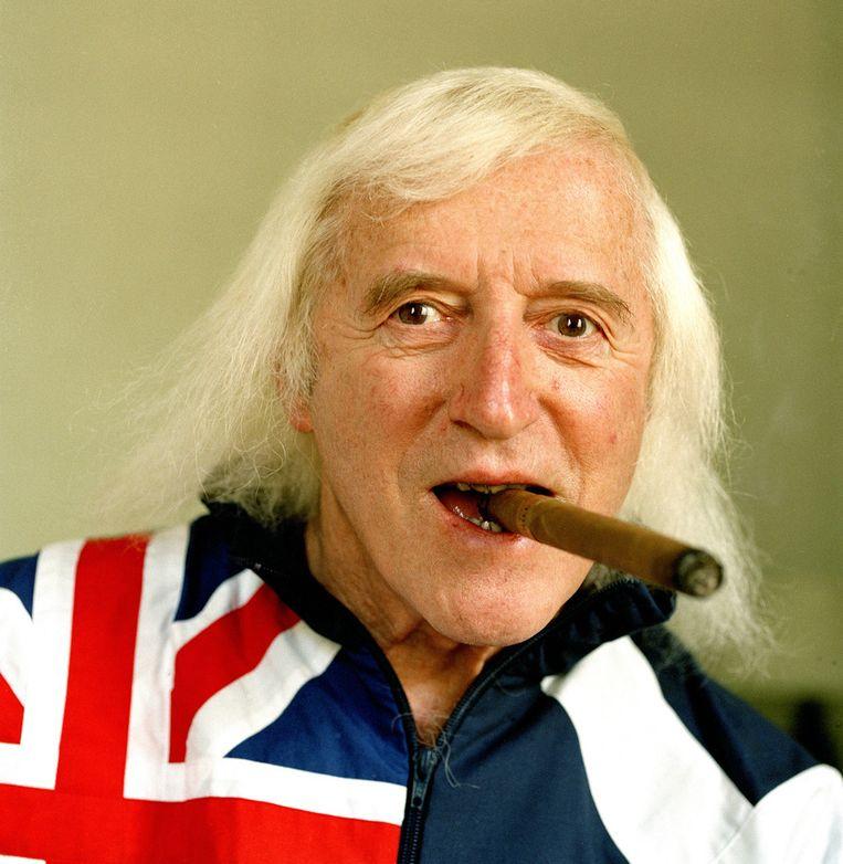 Archieffoto van Jimmy Savile uit 2005 Beeld getty