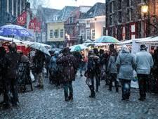 Een witte kerstmarkt in Doesburg