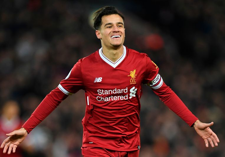 Philippe Coutinho Beeld AFP