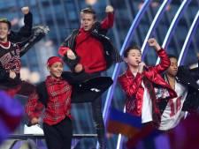Nederlandse Matheu vierde geworden op Junior Eurovisie Songfestival