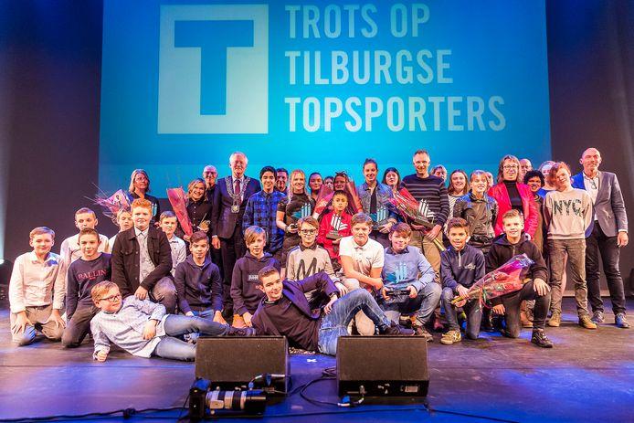 Sportgala Tilburg met alle winnaars.