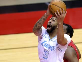 LA Lakers blijft aan de leiding na zege in Houston