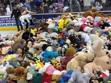 Record: 25.017 knuffelberen voor kansarme kinderen