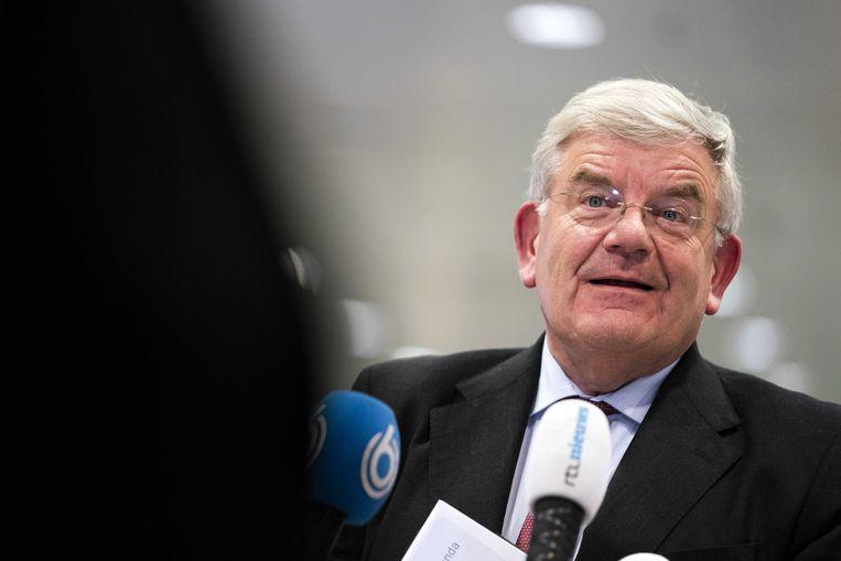 Jan van Zanen, burgemeester van Den Haag en voorzitter van de Vereniging van Nederlandse Gemeenten. Beeld ANP