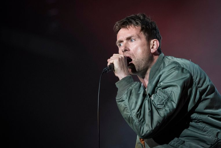 Damon Albarn. Beeld Photo News