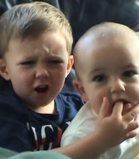 Een van de populairste video's ooit 'Charlie bit my finger' geveild voor 622.000 euro