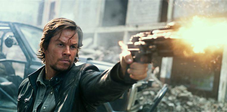 Mark Wahlberg in Transformers: The Last Knight.   Beeld rv