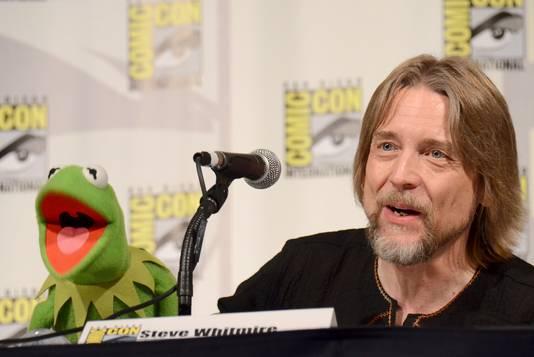 Kermit de Kikker en zijn stem Steve Whitmire.