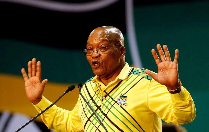 Zuid-Afrikaans president Jacob Zuma.