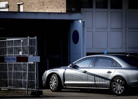 Kroongetuige B. is vandaag niet komen opdagen bij de zitting in Amsterdam.
