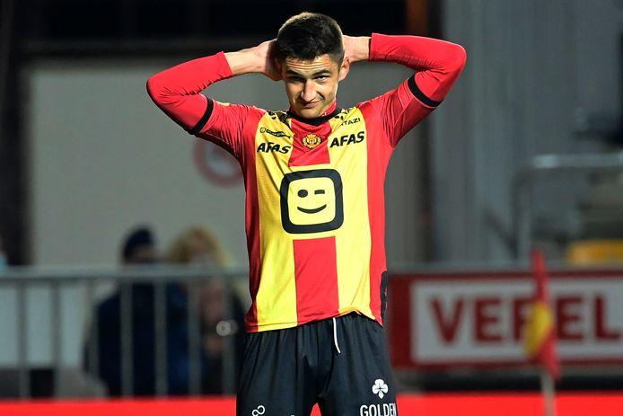 De Oekraïener Maryan Shved is een van de zeven besmette spelers in de kern van KV Mechelen.