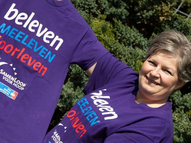 Rianne organiseert SamenLoop voor Hoop voor kankerpatiënten: 'We proberen ze in de watten te leggen'