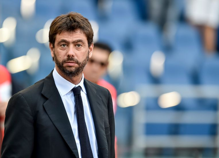 Andrea Agnelli. Beeld Getty Images