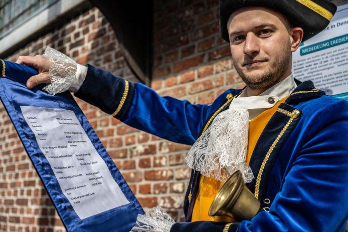 Jordy van Praet is de nieuwe belleman van Baasrode.