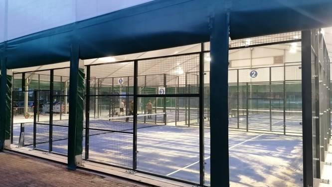 Tennisclubs Woten en Het Zeen openen padelterreinen
