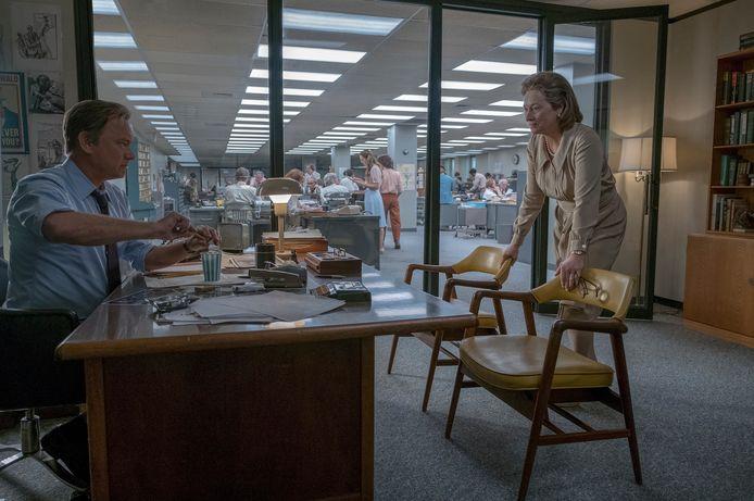 Tom Hanks en Meryl Streep in The Post.