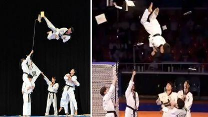 Move over Jackie Chan! Taekwondoka's gaan viraal met deze halsbrekende sprongen en rake trappen