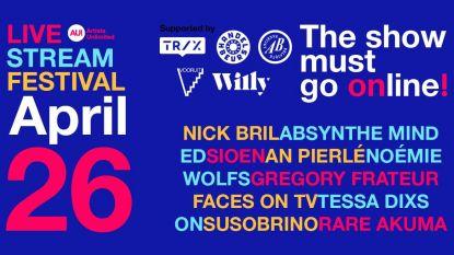 Minstens 1.650 fans betalen tien euro voor online muziekfestival
