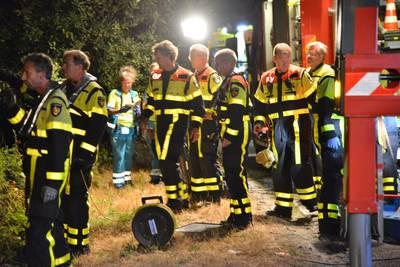 Politie op zoek naar auto in Kanaaldijk in Breda