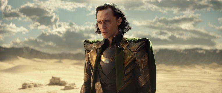 Tom Hiddleston als Loki. Beeld Marvel Studios
