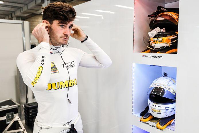 Job van Uitert van Racing Team Nederland, bij de race in Spa.