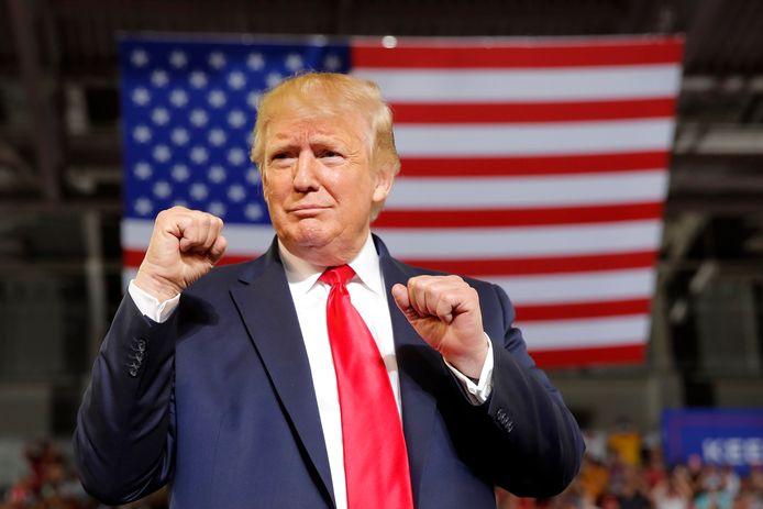 De Amerikaanse President Donald Trump