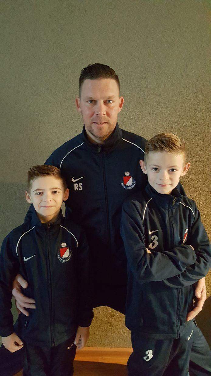 De familie Sebregts is lid van RKVV Roosendaal.