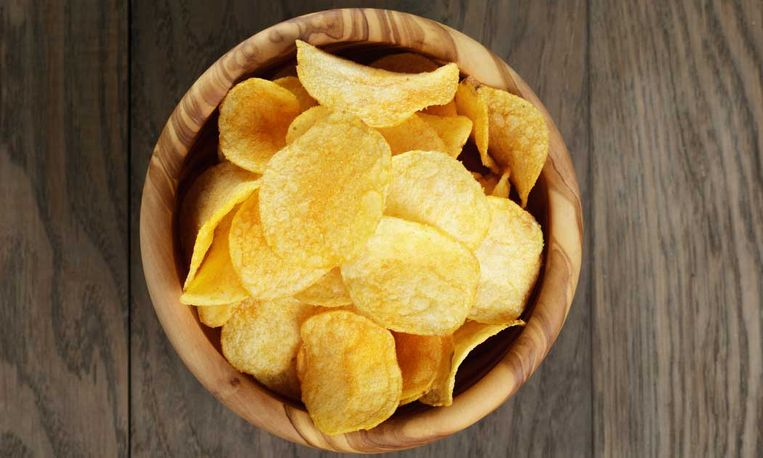 Chips met minste calorieën